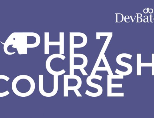 A Crash Course on PHP Development